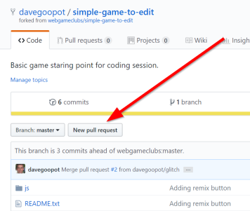 2018-09-15 11_23_27-davegoopot_simple-game-to-edit_ Basic game staring point for coding session.